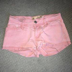 Hollister low-waisted shorts